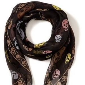 McQ by Alexander McQueen Accessories - TODAY ONLY!!! 100% AUTH Mcqueen Scarf 💀